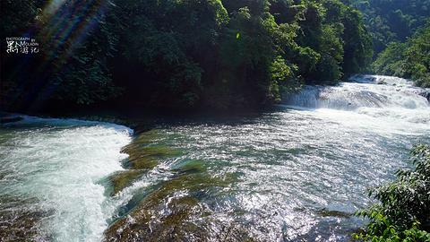 68级跌水瀑布旅游景点攻略图