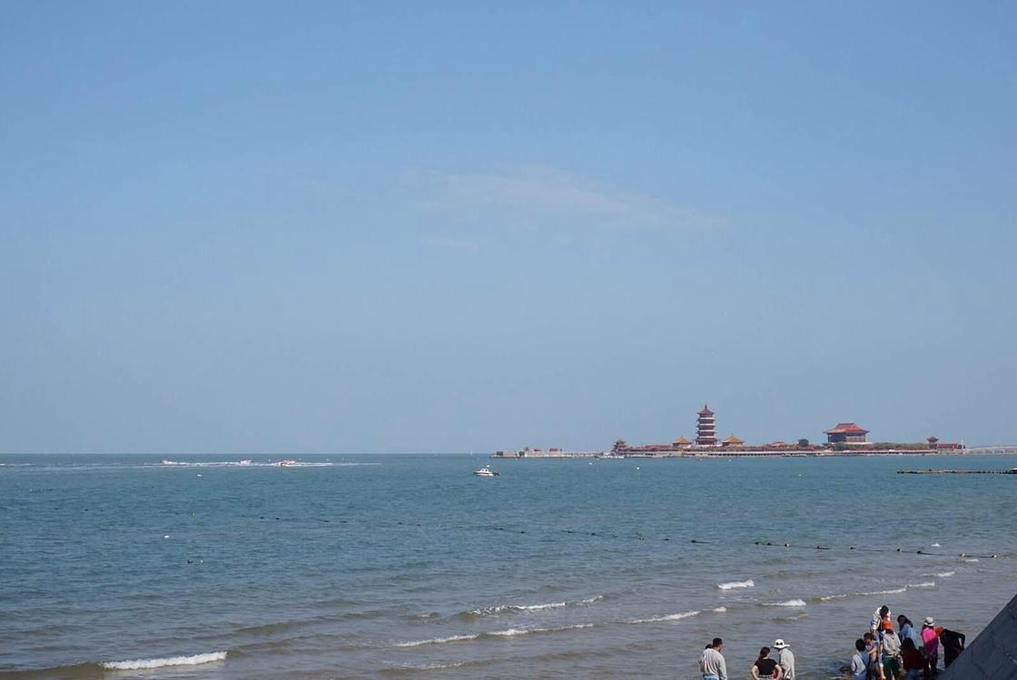 光着脚丫踏在金色沙滩上,记烟台蓬莱五日游