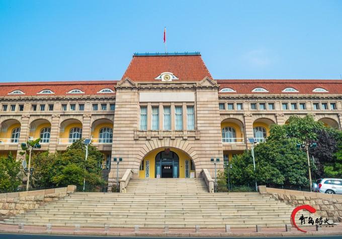 胶澳总督府旧址图片