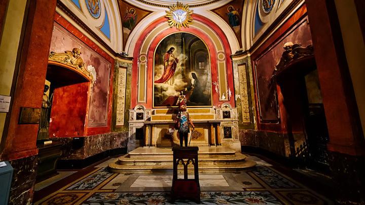 """""""...300年历史的教堂最初十分简陋_布宜诺斯艾利斯主教座堂""""的评论图片"""