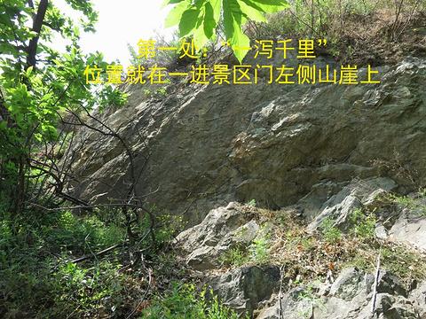 北沟摩崖石刻旅游景点攻略图