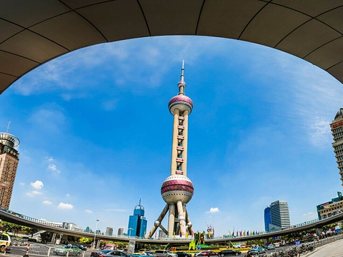 东方明珠旅游景点图片