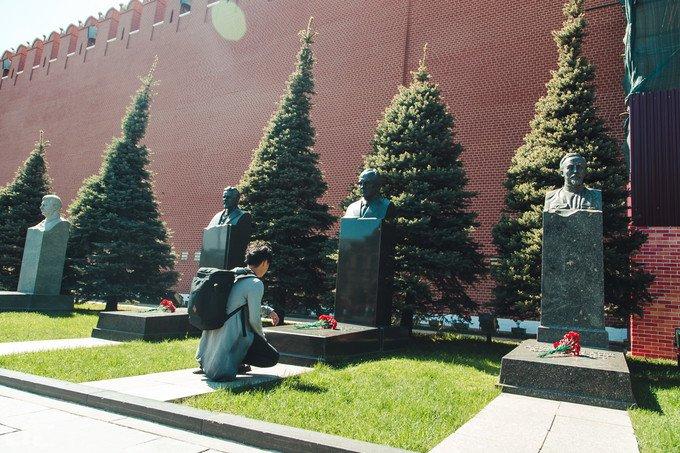 列宁墓图片