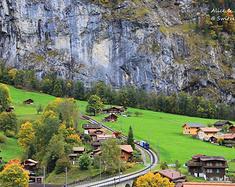 漫步在阿尔卑斯山下的小镇,岁月悠长