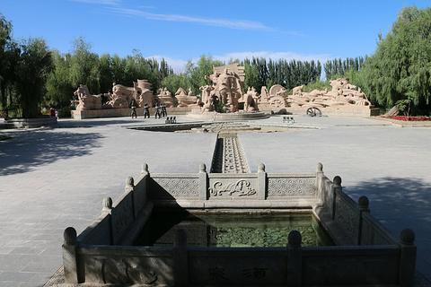 酒泉公园旅游景点攻略图