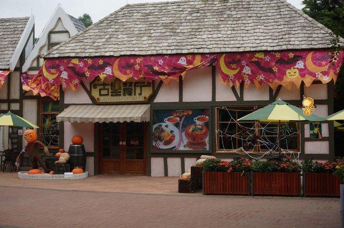 古堡餐厅图片