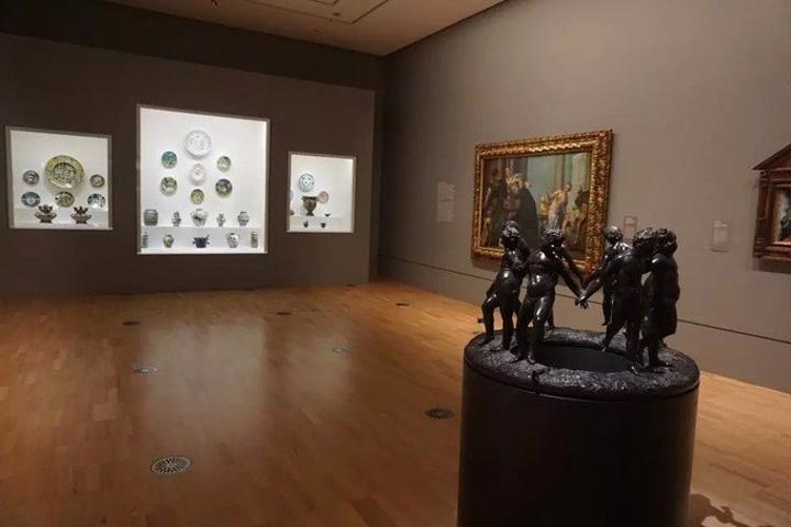 """""""最后有store还可以买到一些美术..._伊恩·波特中心:澳大利亚维多利亚国家美术馆""""的评论图片"""