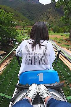 格姆女神山旅游景点攻略图