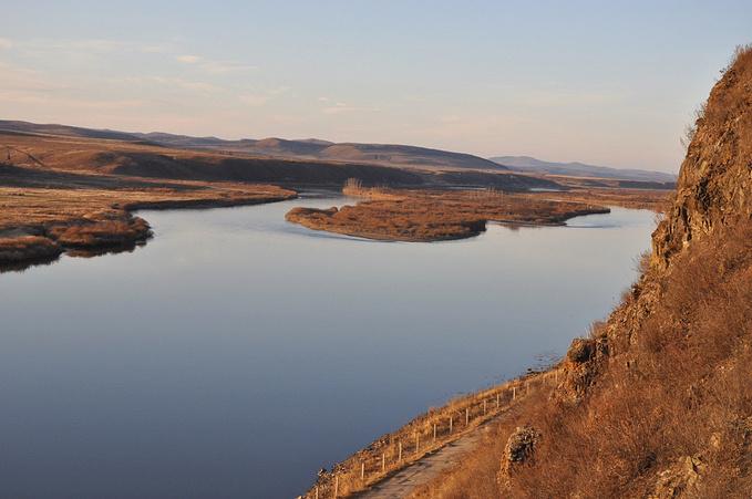 额尔古纳河图片
