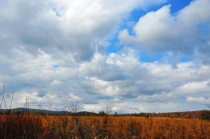 继续向北 乱云飞渡自成一景图片