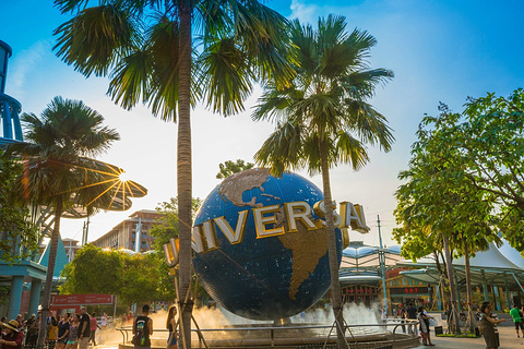 新加坡环球影城旅游景点攻略图