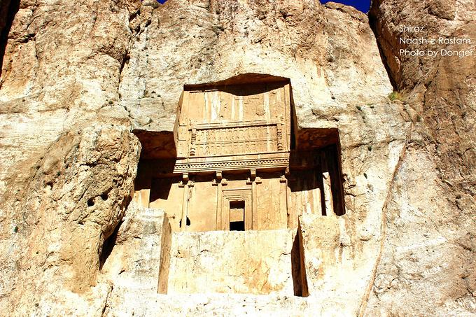 波斯帝陵和萨珊浮雕图片