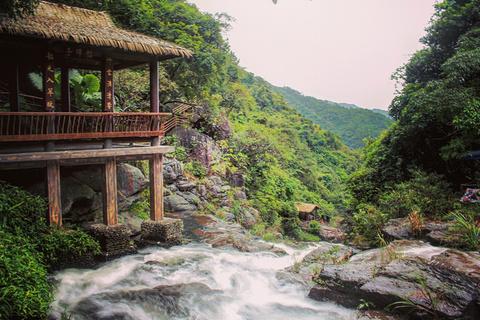 斗方崆瀑布旅游景点攻略图