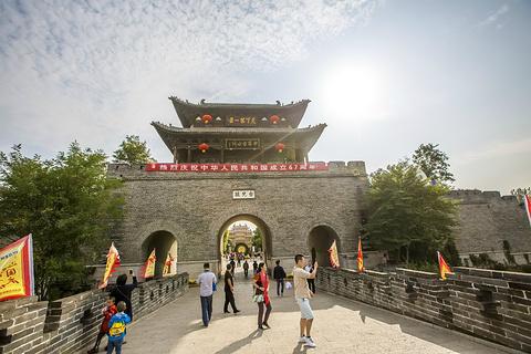 台儿庄古城旅游景点攻略图