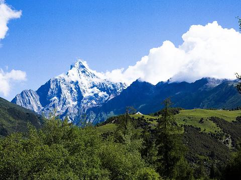 四姑娘山旅游景点图片