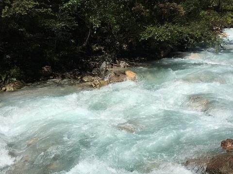 东拉山大峡谷旅游景点攻略图