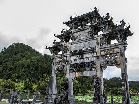胡文光牌坊旅游景点图片