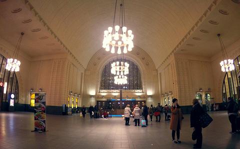 赫尔辛基中央车站旅游景点攻略图