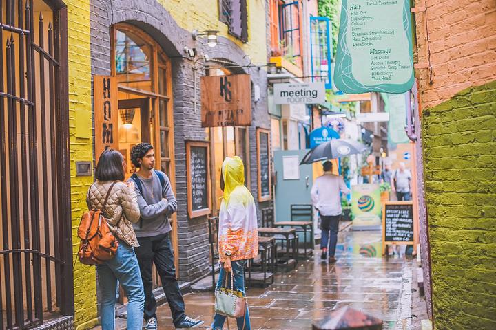 """""""这其实是一个非常小众的地方,又不是什么著名的景点。如果想来感受一下五彩斑斓的不一样的伦敦,可以来看看_Neal's Yard商店""""的评论图片"""