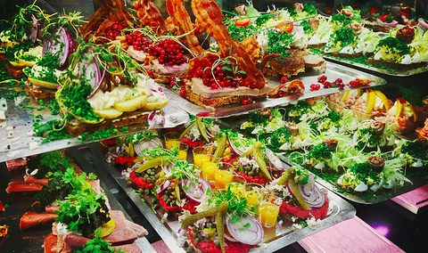 Torvehallerne食品市场旅游景点攻略图