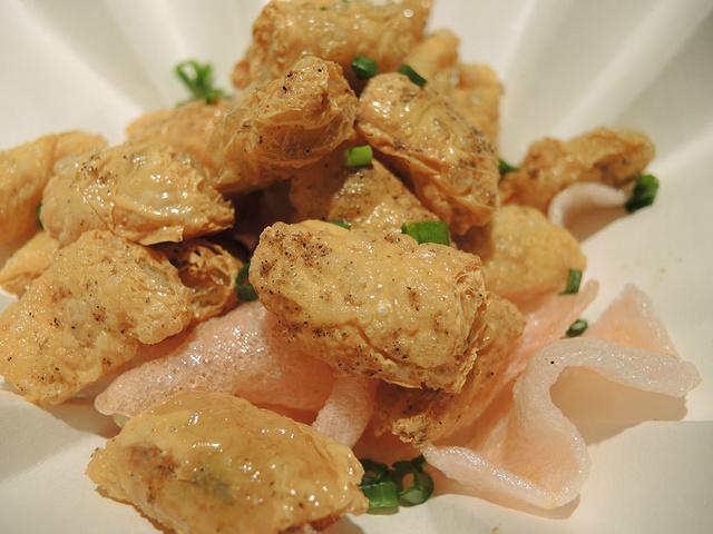 腐皮包黄鱼