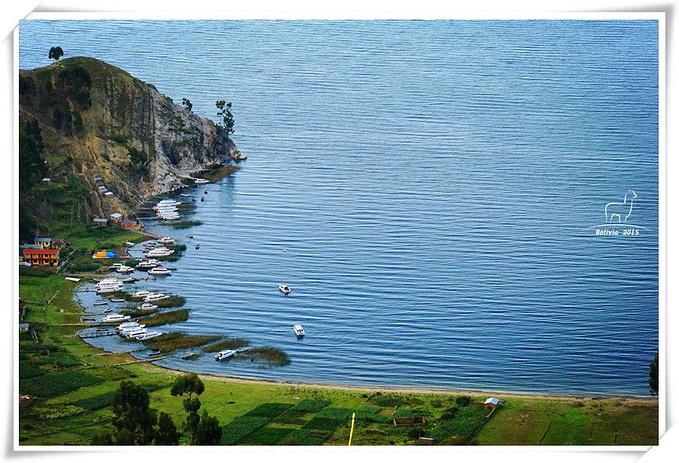 美丽的湖上日出图片