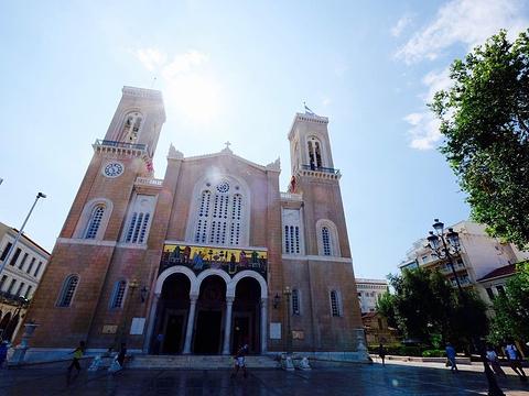 雅典大都市教堂旅游景点图片