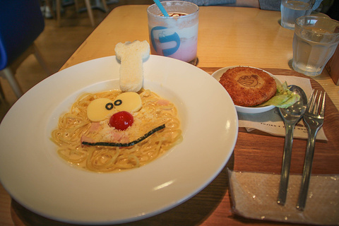 哆啦A梦主题餐厅旅游景点攻略图