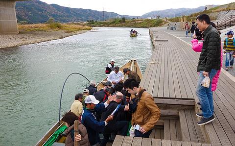 保津峡漂流旅游景点攻略图