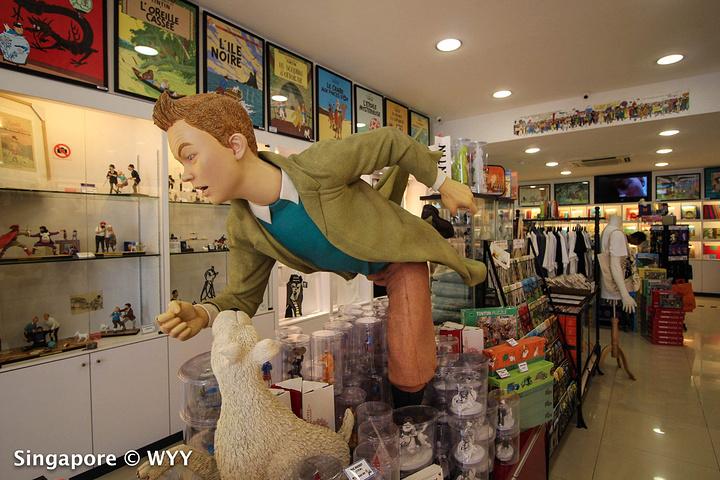 """""""这家TinTin Shop 贩卖许多TinTin的玩具人,T恤,书,还有一些做成小精品,可..._The TinTin Shop""""的评论图片"""