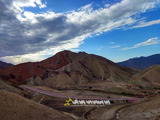 张掖丹霞国家地质公园图片