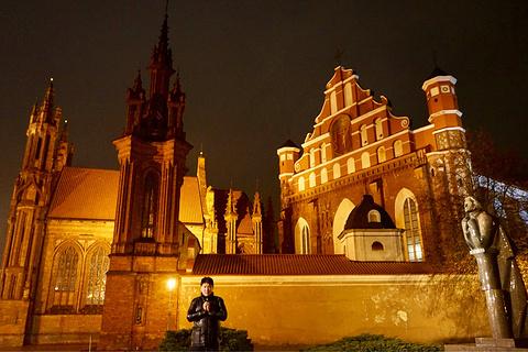 维尔纽斯圣凯瑟琳教堂旅游景点攻略图
