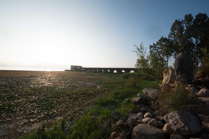 廊桥风景图片