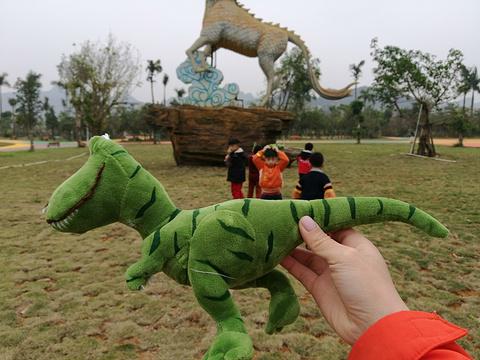 恐龙谷旅游景点攻略图