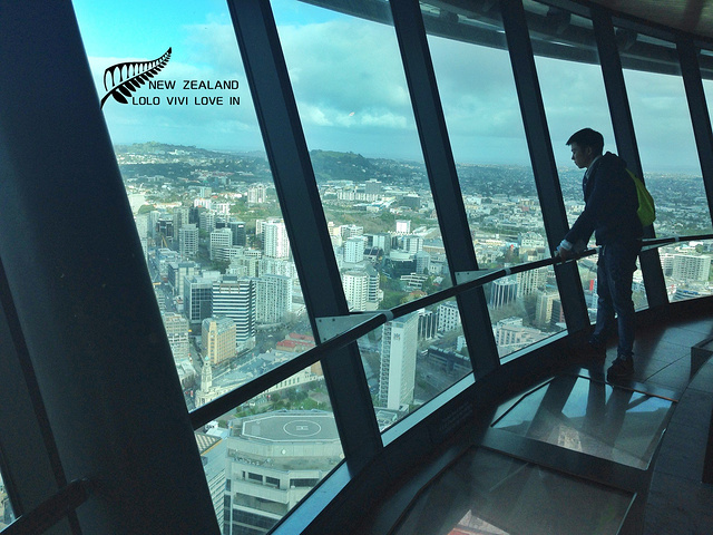 """""""它是全球独立式观光塔第十三位的观光塔,是世界高塔联盟的成员之一。 _天空塔""""的评论图片"""