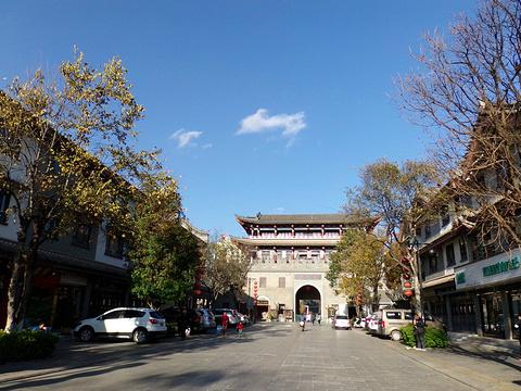 彝人古镇的图片