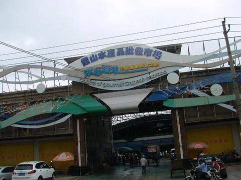 霞山水产品批发市场旅游景点攻略图