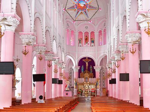新定教堂旅游景点图片
