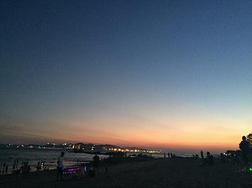 胡里山海滨浴场