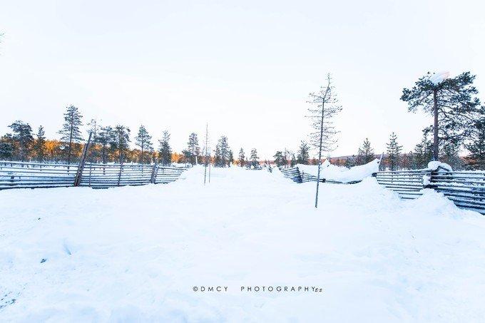 萨米村美景图片
