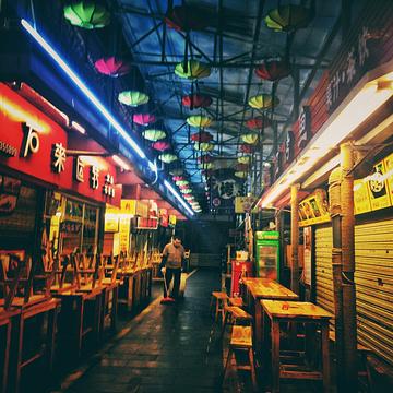 尚水美食街旅游景点攻略图