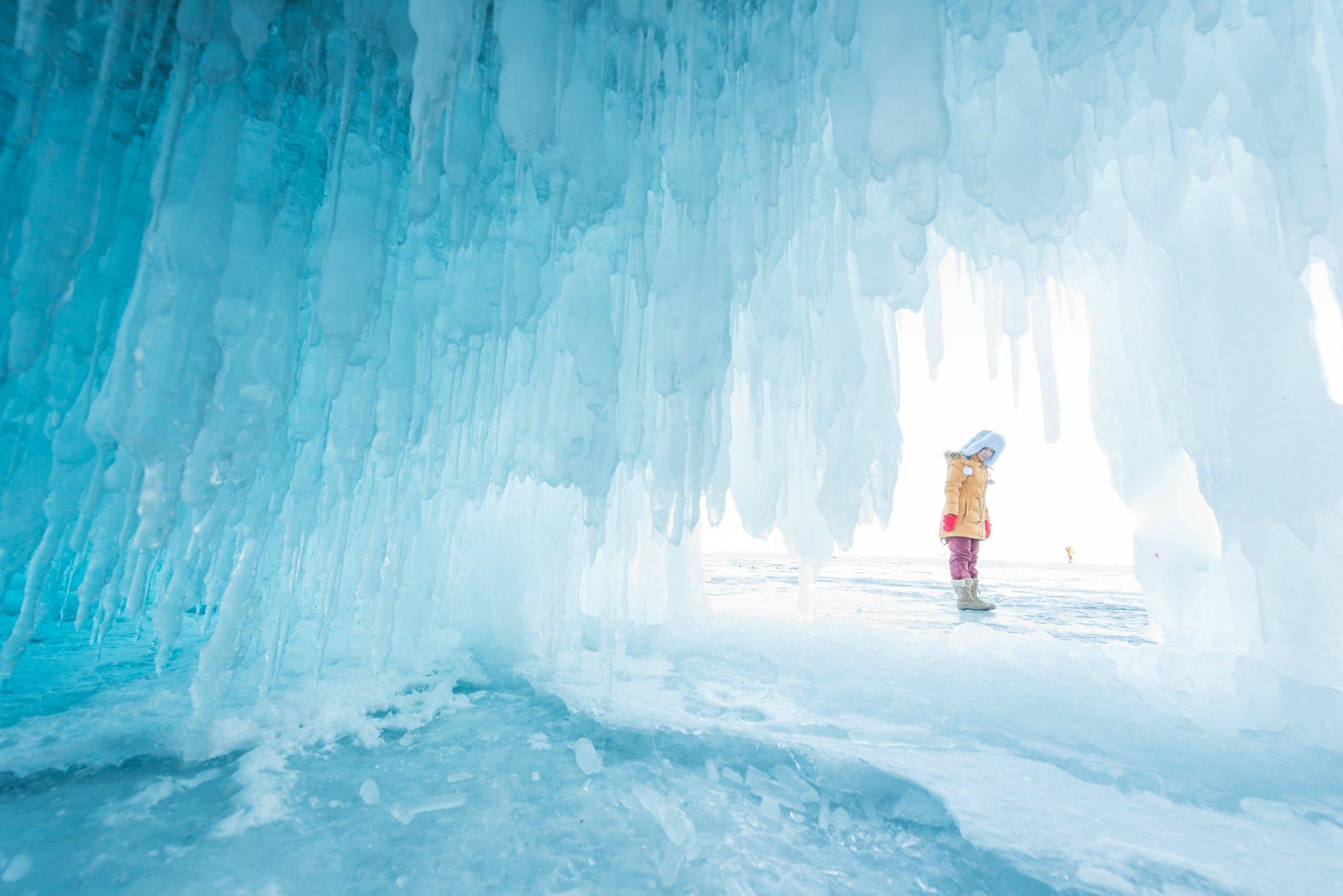 冬季的贝加尔湖 每一帧都是诱惑