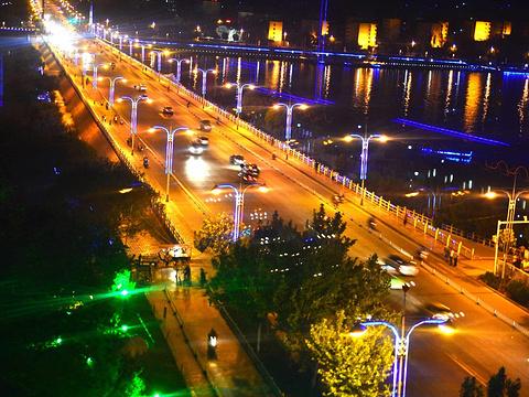 喀什东湖公园旅游景点图片