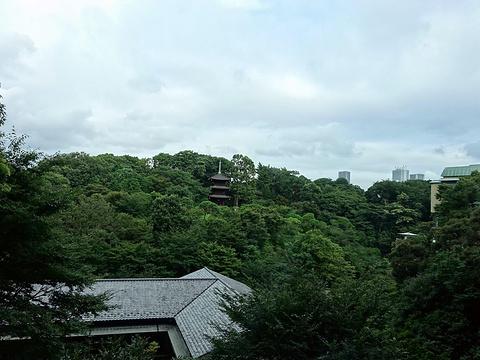 椿山庄旅游景点攻略图