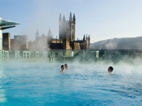 巴斯温泉浴场旅游景点图片