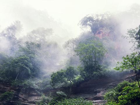 中国丹霞谷旅游景点图片