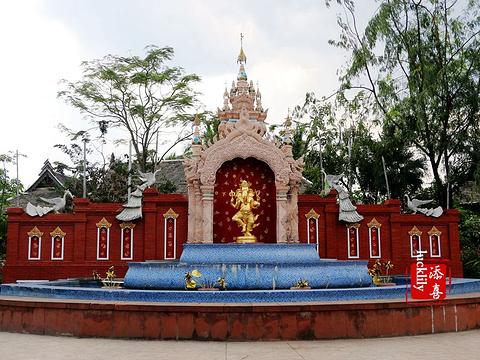 景洪大金塔旅游景点图片