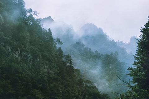 中国丹霞谷旅游景点攻略图