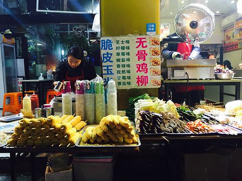 吴山夜市旅游景点图片