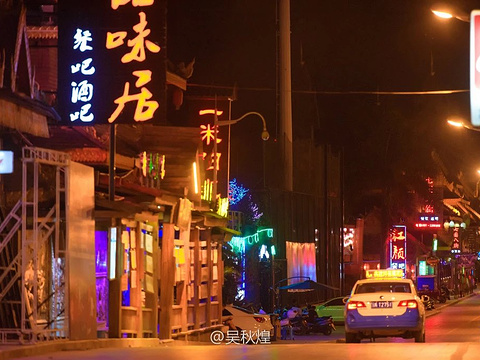 景洪夜市旅游景点图片